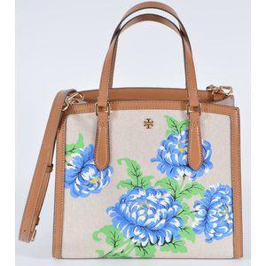 Tory Burch Emerson Floral Crossbody Purse Handbag